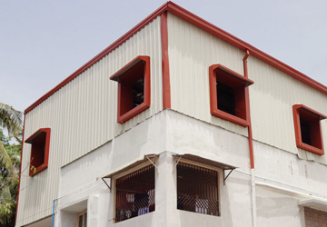 Godown Roofing Construction in Chennai